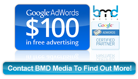 BMD Media Google Adwords Coupon $100 Voucher