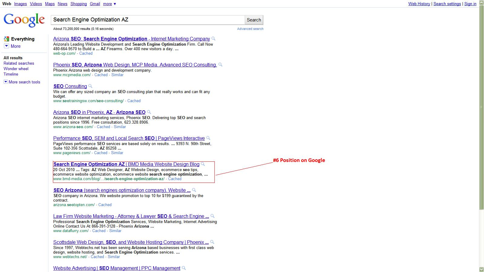 seo az search engine optimization az arizona search engine seo phoenix seo arizona search engine optimization az ranking result samples