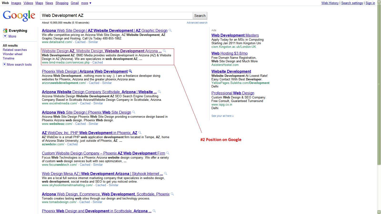 seo az search engine optimization az arizona search engine marketing arizona bmd media. Black Bedroom Furniture Sets. Home Design Ideas
