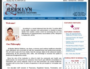 Berklyn Medical - Online Medical School Design