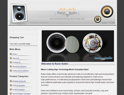 Custom Joomla Website Design with E-Commerce