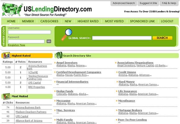 us-lending-directory