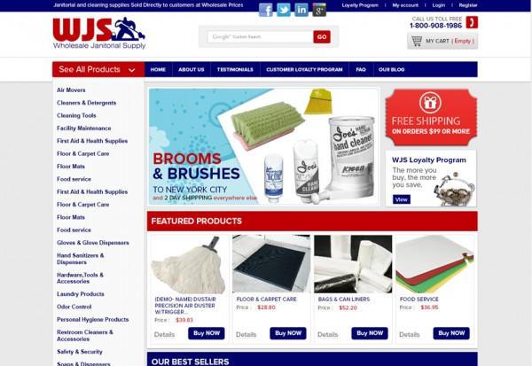 Custom Online Store Design