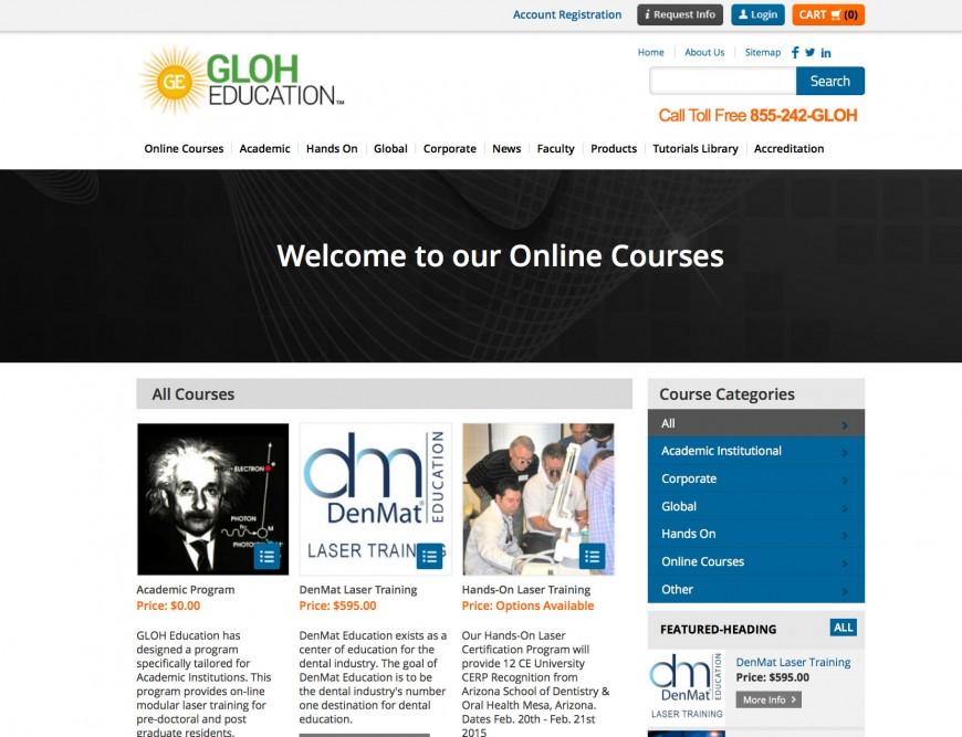 GLOH Education Online Laser Dental School