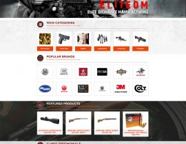 EliteOM - Custom Magento Website Design