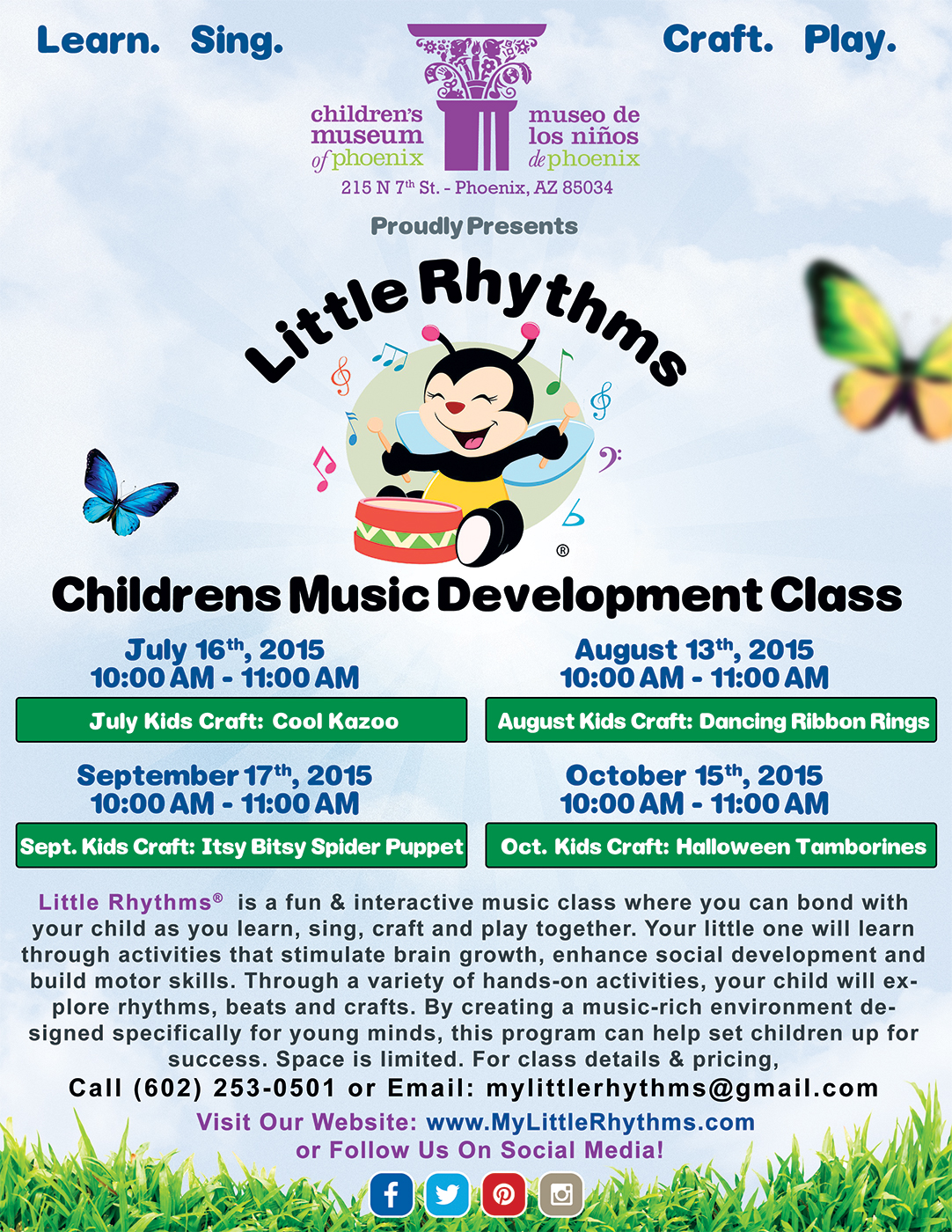 little rhythms program flyers bmd media phoenix web design